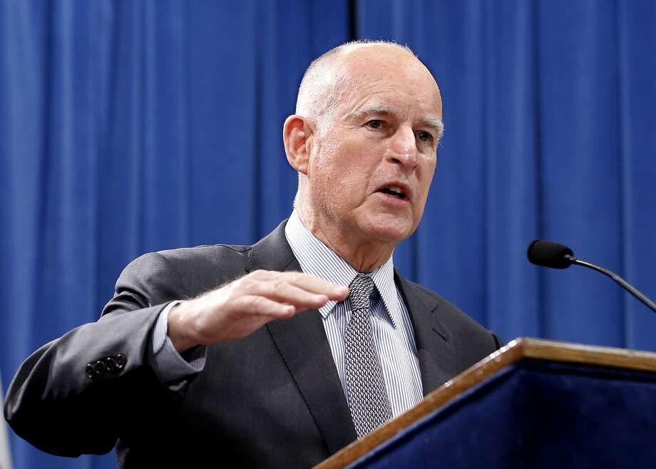 Gov. Jerry Brown is allotting $10 million in his latest state budget plan for an earthquake alert system. Photo: Rich Pedroncelli, Associated Press