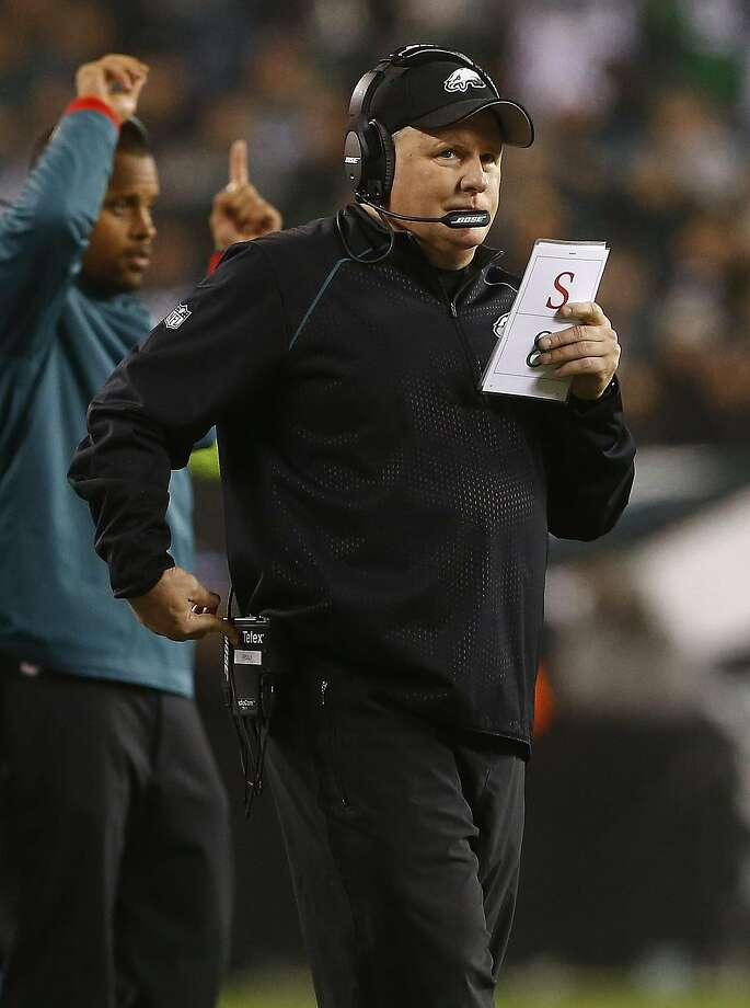 The Eagles ranked last in the NFL in time of possession during Chip Kelly's three seasons in Philadelphia. Photo: Rich Schultz, Getty Images
