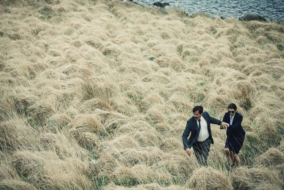 """Colin Farrell and Rachel Weisz in """"The Lobster"""" Photo: A24"""