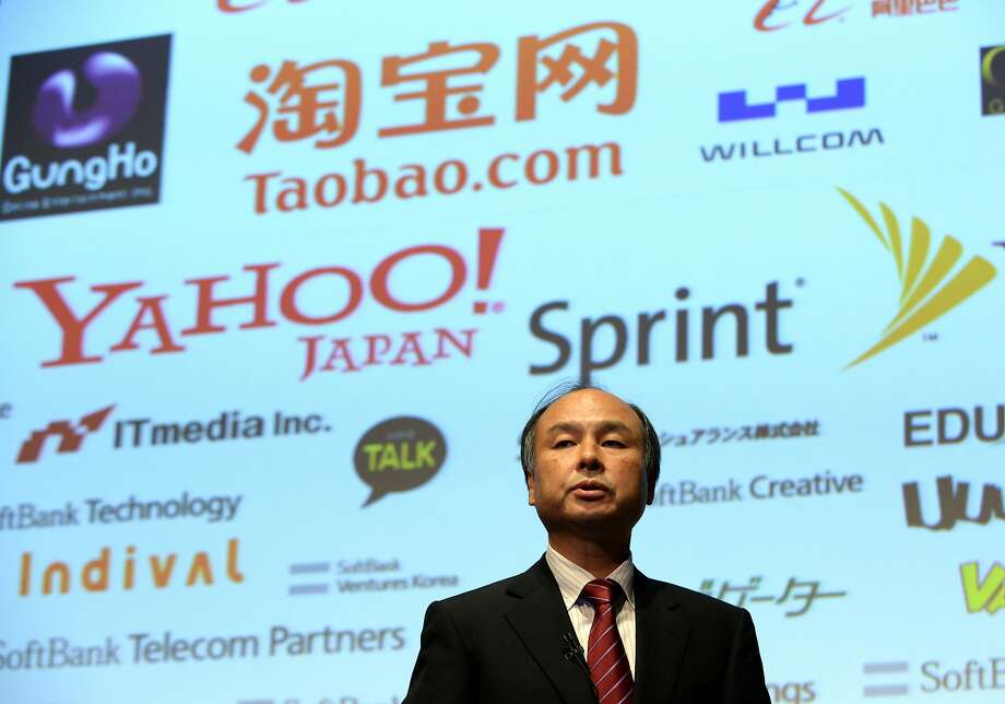 SoftBank President Masayoshi Son wants his company to keep investing big in technology. Photo: Toshifumi Kitamura / AFP / Getty Images 2013