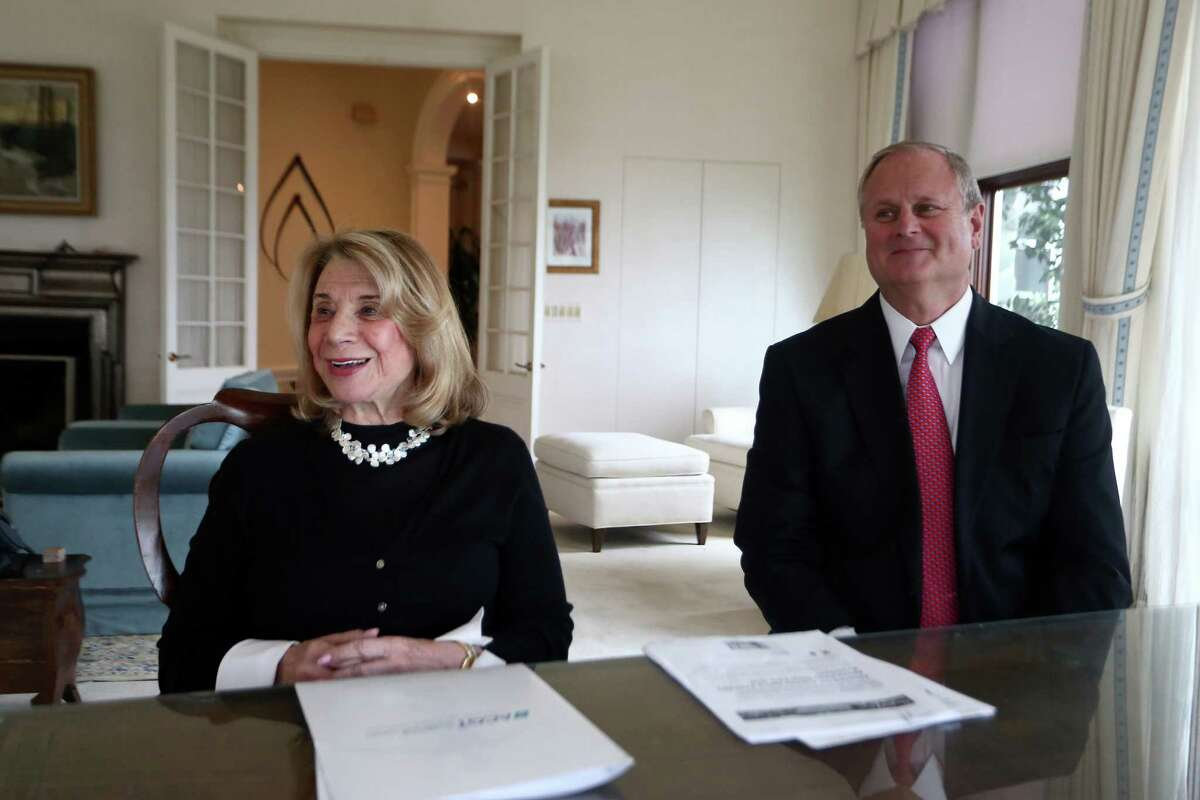 Barbara Netter, co-founder of the Alliance for Cancer Gene Therapy, new CEO John Walter who previously held the same role with the Leukemia and Lymphoma Society.