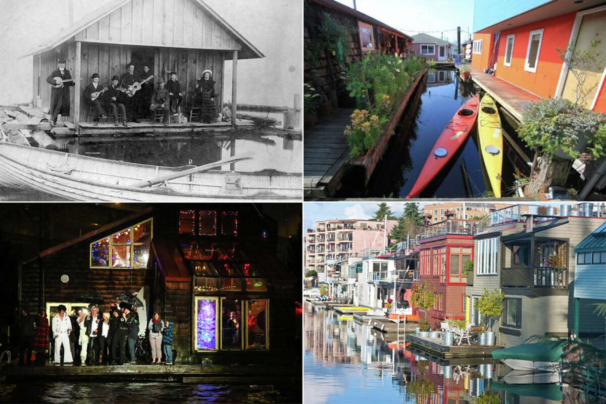 Take a look at Seattle's houseboats through the years in photos taken from the collections of seattlepi.com, Getty Images, the Museum of History and Industry and the city of Seattle.