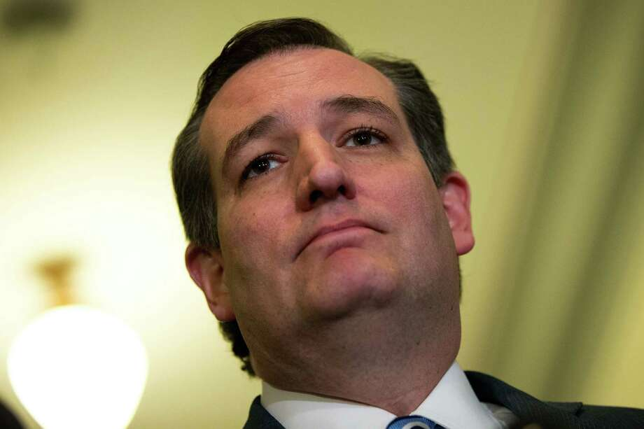 WASHINGTON, DC - MAY 10: Sen. Ted Cruz (R-TX) is speaks to the media as he returns to his office at the U.S. Capitol. Photo: Drew Angerer, Staff / 2016 Getty Images