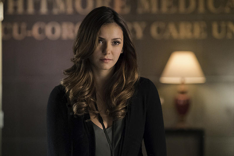 The Vampire Diaries: Yep, Nina Dobrev Returned for the Finale - Sort Of - seattlepi.com