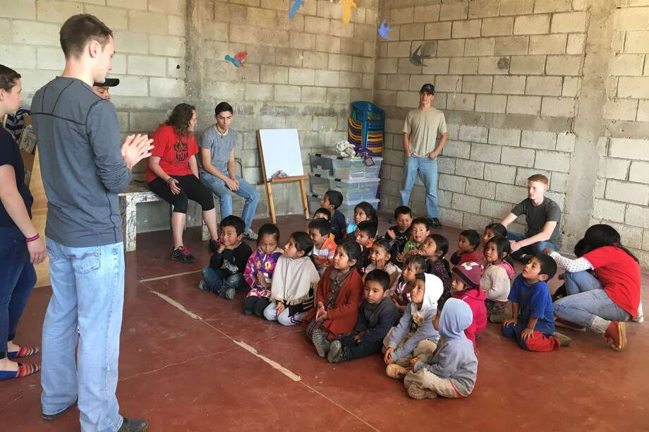 A dozen local students spent their February vacation on a mission trip to aid impoverished Mayan children at a Learning Center in Cruz Blanca, Guatemala, and many of these local students will be at Guilderland Public Library on Friday, May 20, at 7 p.m.