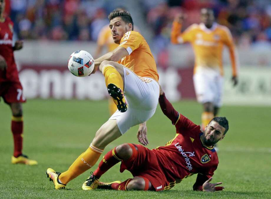 The Dynamo waived defender Agus on Friday to free up an international roster spot, potentially to be used during next month's secondary transfer window. Photo: Rick Bowmer, STF / Copyright 2016 The Associated Press. All rights reserved. This material may not be published, broadcast, rewritten or redistribu