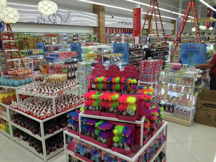 Daiso, a discount store based in Japan, opened a store in Irving near last year. The chain plans a dozen stores each in the Houston and Dallas markets, according to NewQuest Properties.