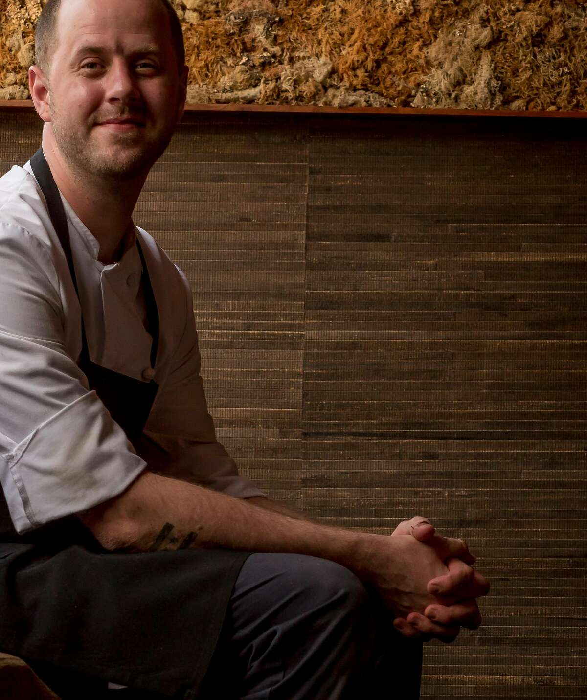 Chef Matthew Kirkley of Coi in San Francisco, Calif., is seen on May 13th, 2016.