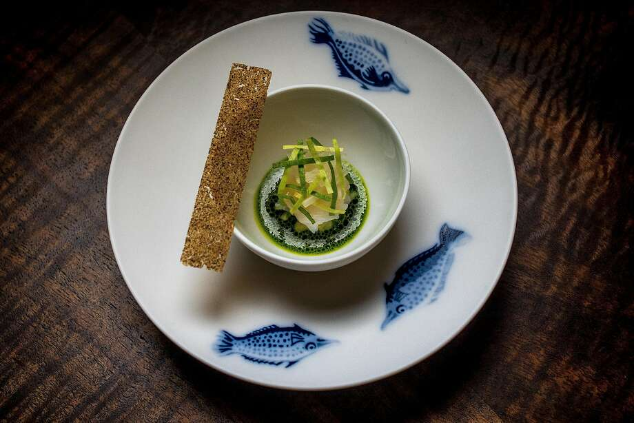 Geoduck Clam at Coi in San Francisco. Photo: John Storey, Special To The Chronicle