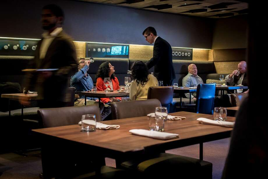 People have dinner at Coi in S.F., which seems to still be finding its footing under its newest chef. Photo: John Storey / Special To The Chronicle 2016