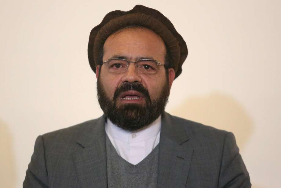 Amin Karim, a representative of Hezb-i-Islami, says the deal could be approved as soon as Sunday. Photo: Rahmat Gul, Associated Press