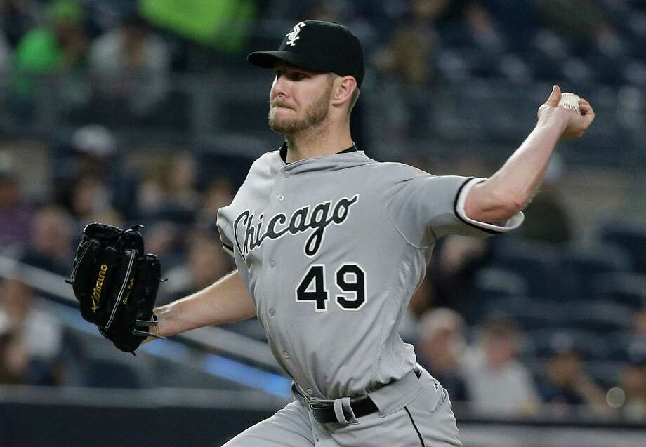 Chicago White Sox pitcher Chris Sale delivers against the New York Yankees during the fourth inning of a baseball game Friday, May 13, 2016, in New York. (AP Photo/Julie Jacobson) Photo: Julie Jacobson, Associated Press / Copyright 2016 The Associated Press. All rights reserved. This material may not be published, broadcast, rewritten or redistribu