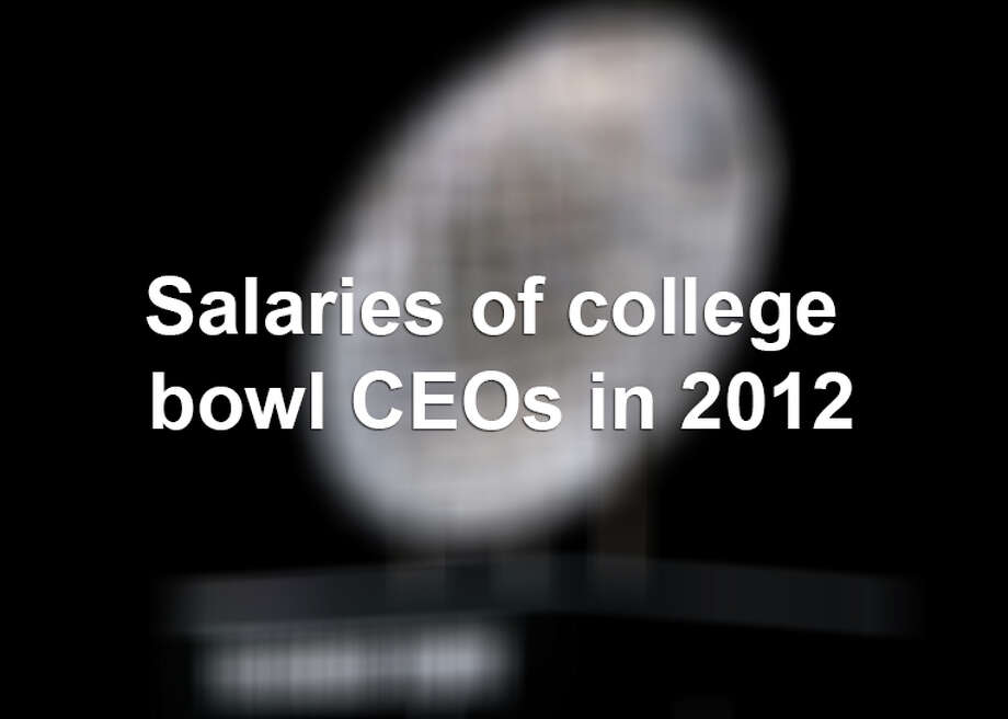Here is a look at various pay packages of directors and CEOs from major college football bowl games in 2012. Sourced from a CBSSports report.