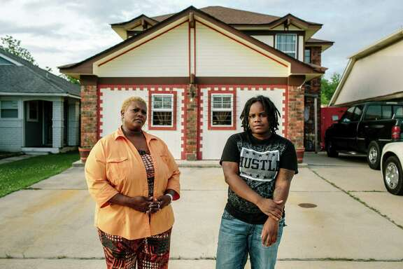 Chené Marshall, 22, was shunted into the adult justice system after getting into a fight in high school at 17. She was charged with battery and spent three nights in jail. After completing a diversion program, she now lives with her great-aunt, Yolanda Wills, in east New Orleans.