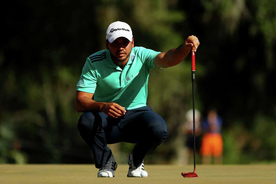 PONTE VEDRA BEACH, FL - MAY 14:  Jason Day of Australia lines up a putt on the 12th green during the third round of THE PLAYERS Championship at the Stadium course at TPC Sawgrass on May 14, 2016 in Ponte Vedra Beach, Florida.  (Photo by Mike Ehrmann/Getty Images) ORG XMIT: 592311749 Photo: Mike Ehrmann / 2016 Getty Images