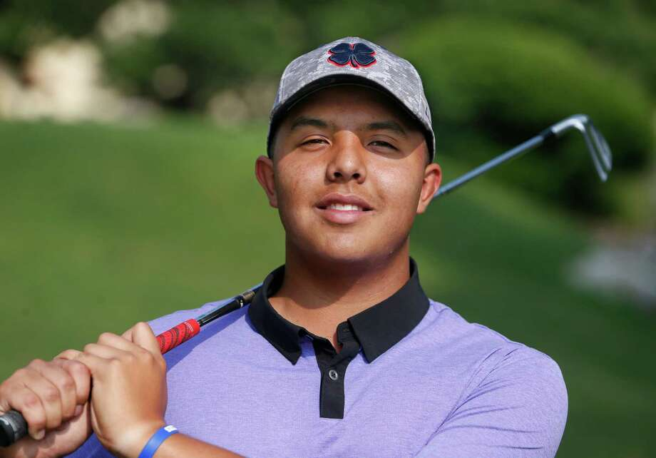 Warren's Kane Ybarra poses for the Express-News All-Area golf team on May 12, 2016 at The Club at Sontera. Photo: Ron Cortes /For The Express-News