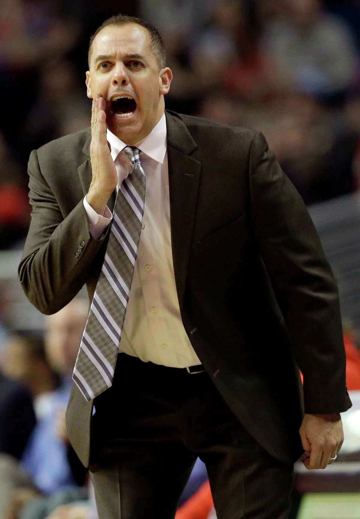 The Rockets contacted Frank Vogel's people last week.