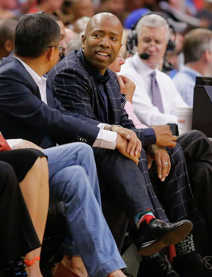 Kenny Smith interviewed for the open Houston Rockets job last week.Browse through the photos to see some of the candidates for the job. Photo: Bob Levey, FRE / FR156786 AP