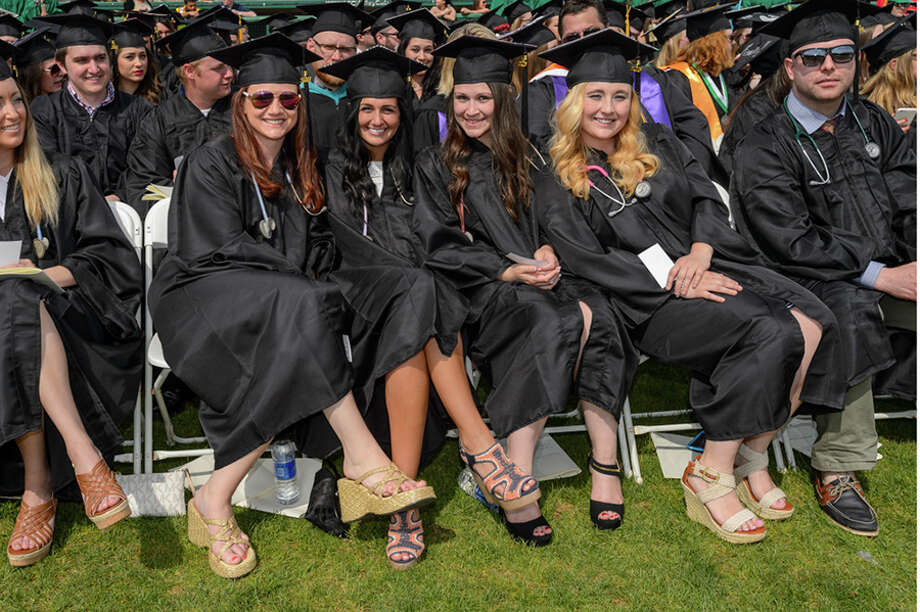 Were you Seen at the Hudson Valley Community College commencement ceremony at the Joseph L. Bruno Stadium in Troy on Saturday, May 14, 2016? Photo: Vincent Giordano For HVCC