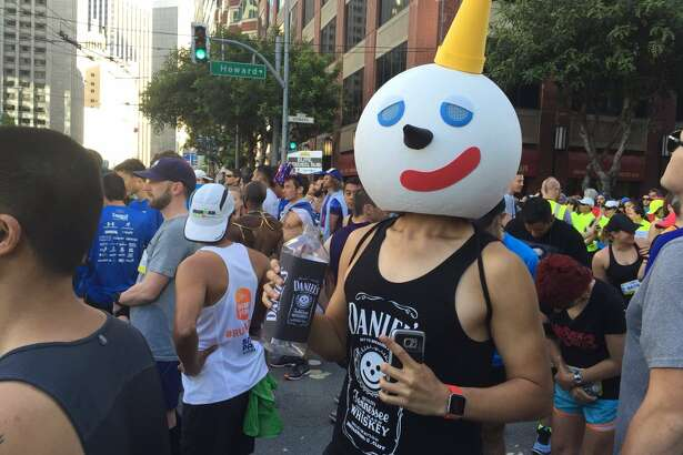 Costumes at the 2016 Bay to Breakers race.