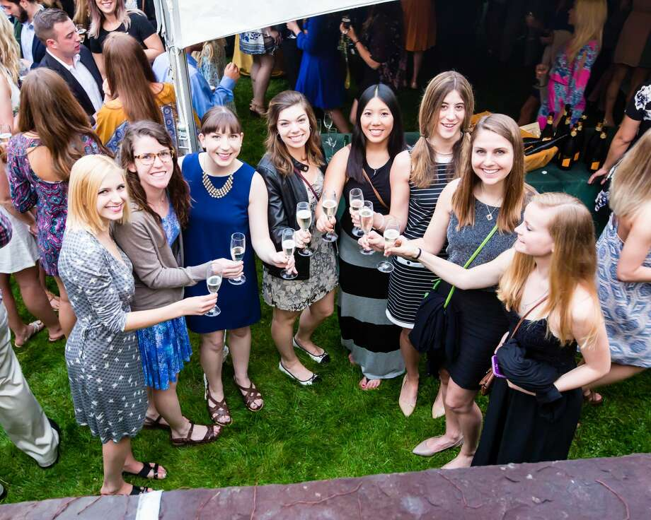 Were you Seen at the 5th Annual Siena College Senior Champagne Toast on Friday, February 13, at Serra Manor on campus? The event provided a formal send-off for the Class of 2016. Photo: Photo Courtesy Of Siena College