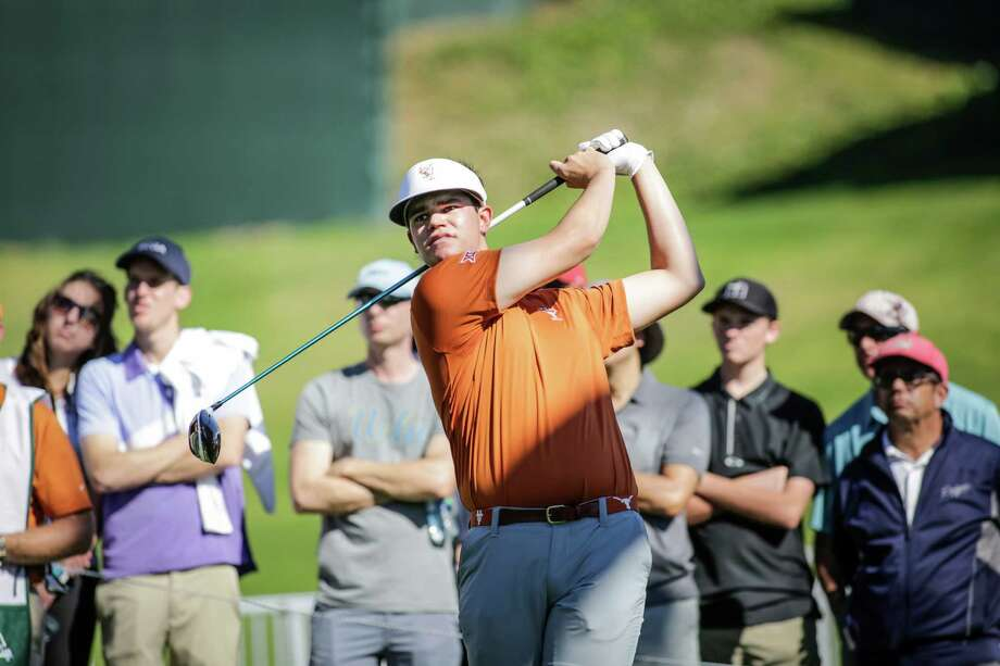 Texas golfer Beau Hossler at the Northern Trust Open Collegiate Showcase held at the Riviera Country Club in Los Angeles, CA. Feb. 15, 2016.  Hossler leads NCAA Division I with five medalist honors during the 2015-16 season, leading the Longhorns with a 69.42 stroke average in Texas events. He has shot 19 of the 24 rounds he has played at or under par. Photo: David Sprague, Freelance / David Sprague