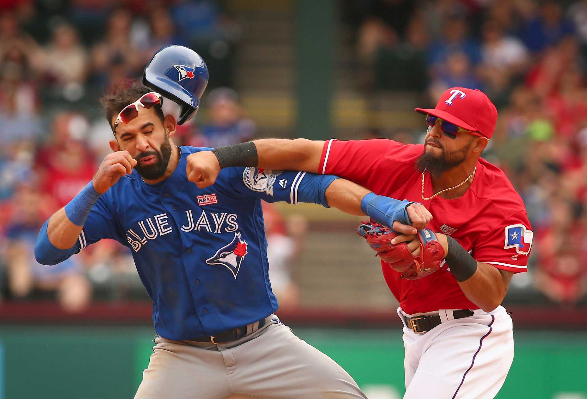 Rangers add another chapter to ugliest brawls in sports history - Houston Chronicle