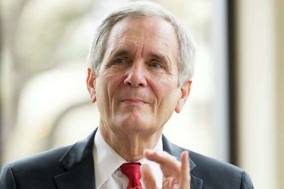 U.S. Rep. Lloyd Doggett, D-Austin, applauds Tuesday morning, March 8, 2016 during the San Antonio Independent School District's announcment that next year it will open the first pre-kindergarten through 12th-grade accelerated learning academy in a San Antonio traditional public school district. SAISD is partnering with Trinity University for the program, which is being funded by City Education Partners, a newly formed nonprofit.