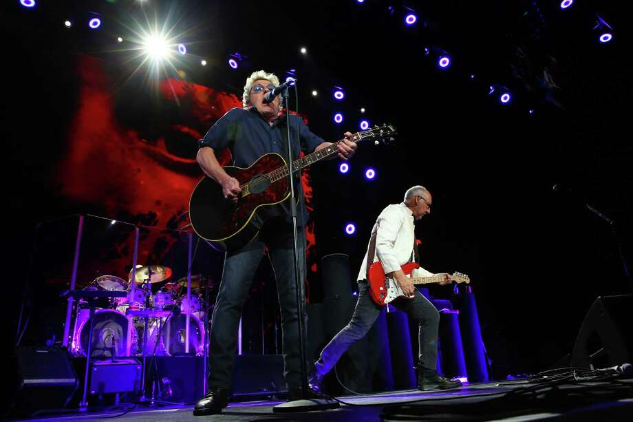 Roger Daltrey and Pete Townshend play as The Who performs at Key Arena, Sunday, May 15, 2016. Photo: GENNA MARTIN, SEATTLEPI.COM / SEATTLEPI.COM