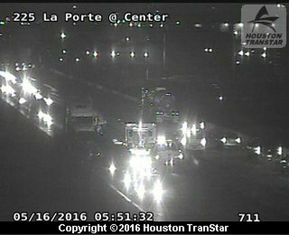 La porte freeway reopens after 5 vehicle pileup blocked for La porte houston
