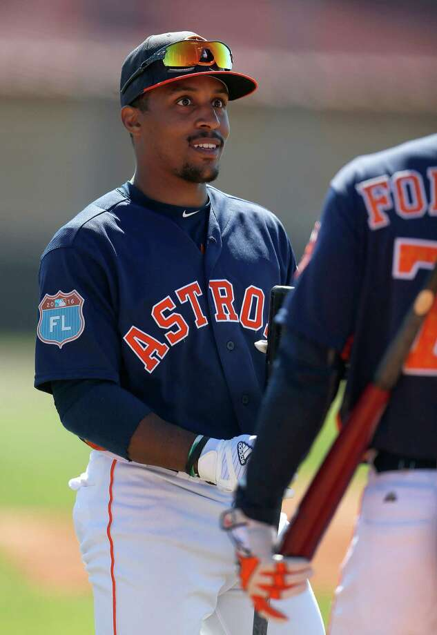 Tony Kemp was batting .298 with 21 walks to 22 strikeouts in 34 games with Class AAA Fresno. Photo: Karen Warren, Houston Chronicle / © 2015  Houston Chronicle