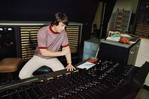"The Beach Boys' Brian Wilson recording ""Pet Sounds"""