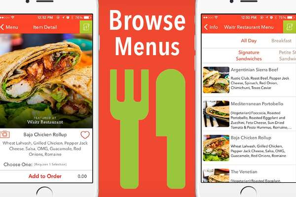 Waitr app photos from WaiterApp Facebook page.
