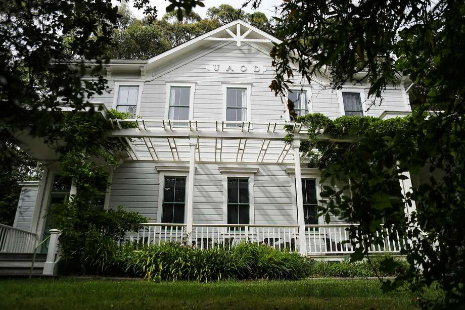 The exterior of Druids Hall in Olema. Photo: Gabrielle Lurie, Special To The Chronicle