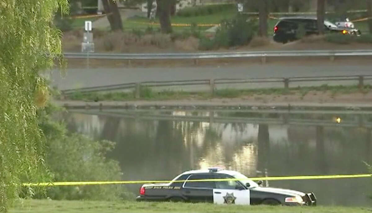 The discovery of a woman's body in Newhall Community Park in Concord forced Concord police to close the entire parkMonday, May 16, 2016.