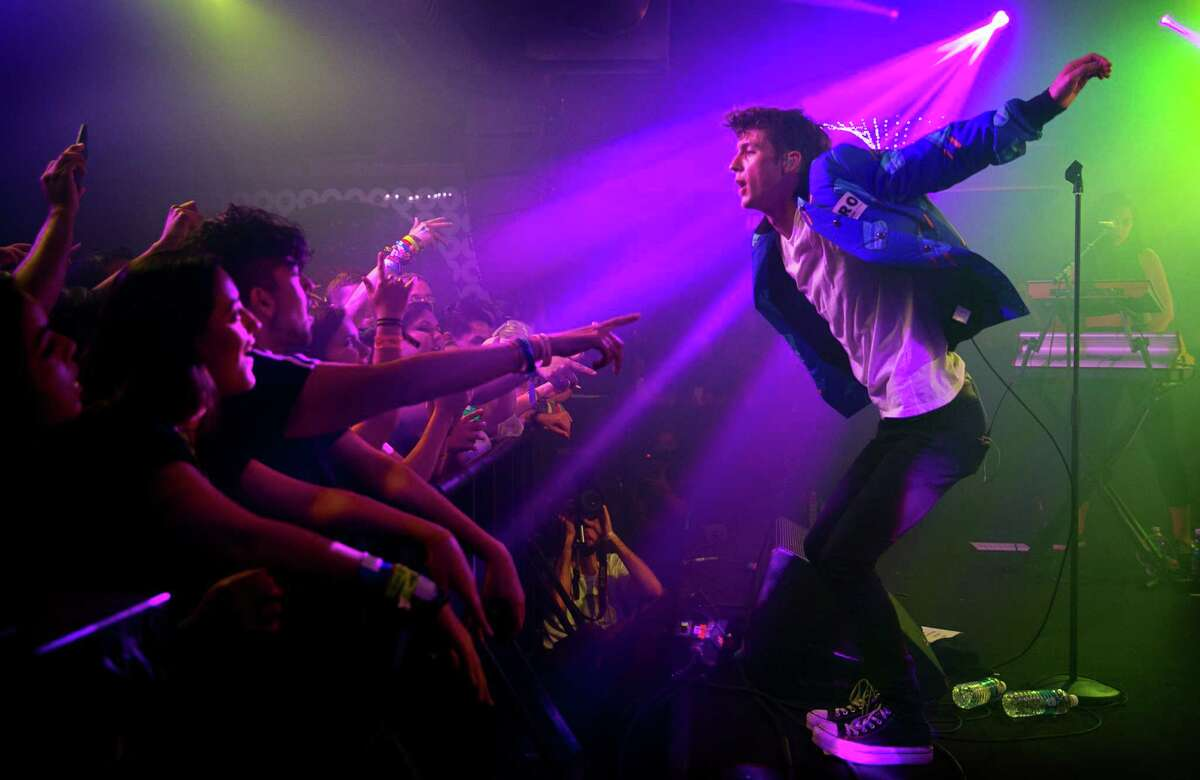 Troye Sivan performs at The YouTube House at the Copper Tank during South by Southwest festival on Friday, March 18, 2016, in Austin, Texas. (Jay Janner/Austin American-Statesman via AP) MANDATORY CREDIT; AUSTIN CHRONICLE OUT; COMMUNITY IMPACT OUT; INTERNET AND TV MUST CREDIT PHOTOGRAPHER AND STATESMAN.COM; MAGS OUT