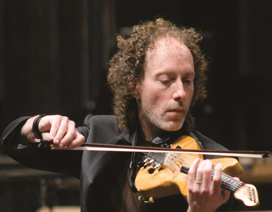 "Violinist Tracy Silverman will play ""The Dharma at Big Sur."" Photo: Courtesy Oakland Symphony"