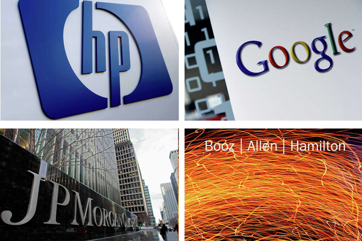 Forbes released their list of the top ten companies that have the most employees with six figure salaries.
