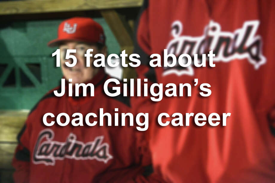 Click through the slides to learn about Jim Gilligan's 39-year career at Lamar, as well as a stint away from Lamar that earned him a spot in the Baseball Hall of Fame.