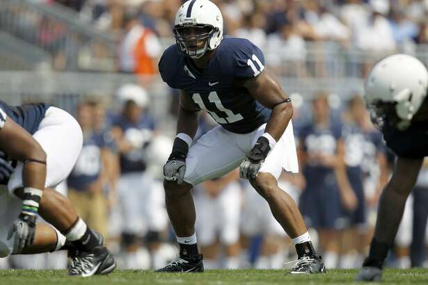 STATE COLLEGE, PA - SEPTEMBER 03:  Khairi Fortt #11 of the Penn State Nittany Lions prepares for the snap against the Indiana State Sycamores during the game on September 3, 2011 at Beaver Stadium in State College, Pennsylvania.  (Photo by Justin K. Aller/Getty Images)