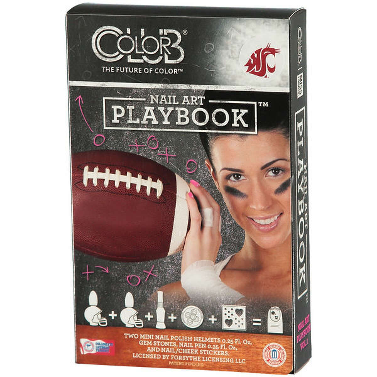 Double your impact when you extend your middle finger at Pac-12 refs with this nail art. All transgressors will receive your message and immediately resign.