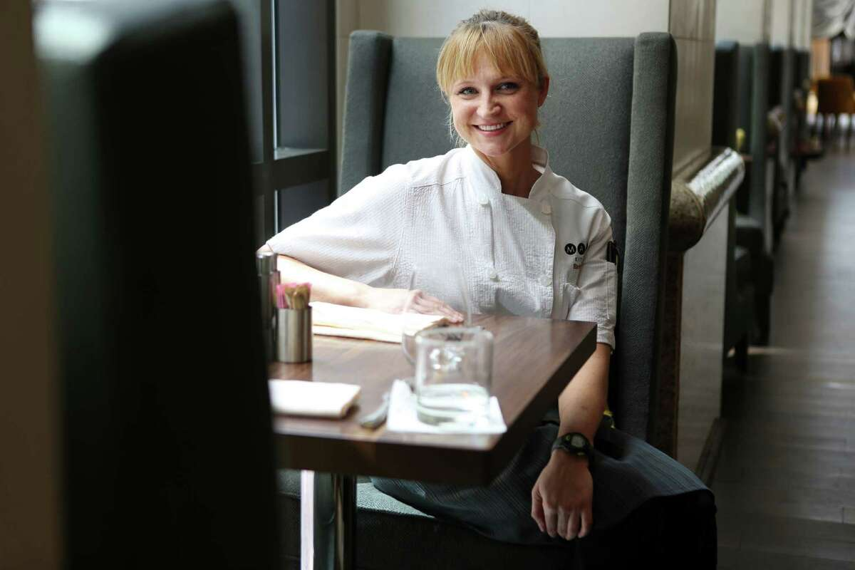 Chef Erin Smith, formerly of Main Kitchen in downtown's J.W. Marriott, is now working behind the bar at Camerata.