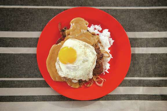 """The Loco Moco is one the regional sandwiches featured in """"The Great American Burger Book"""" by George Motz. National Hamburger Day is May 28."""