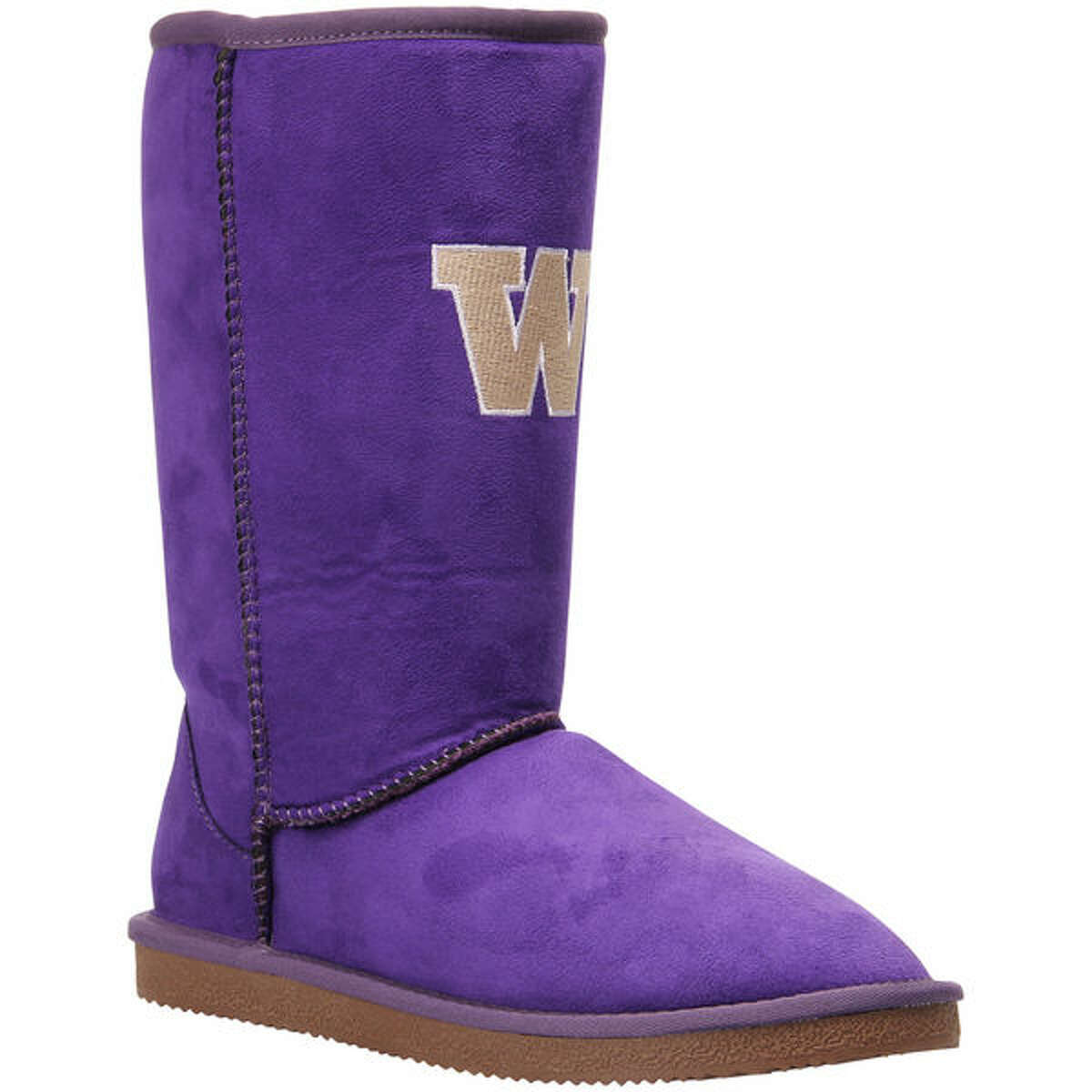 First, we have the low-hanging fruit of these UGG knock-offs in Grimace-purple.