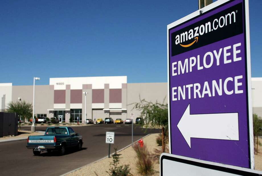 For years, Amazon has successfully battled to keep unions out of the company. Amazon proves infertile soil for unions, so far. Photo: Joshua Lott /Bloomberg