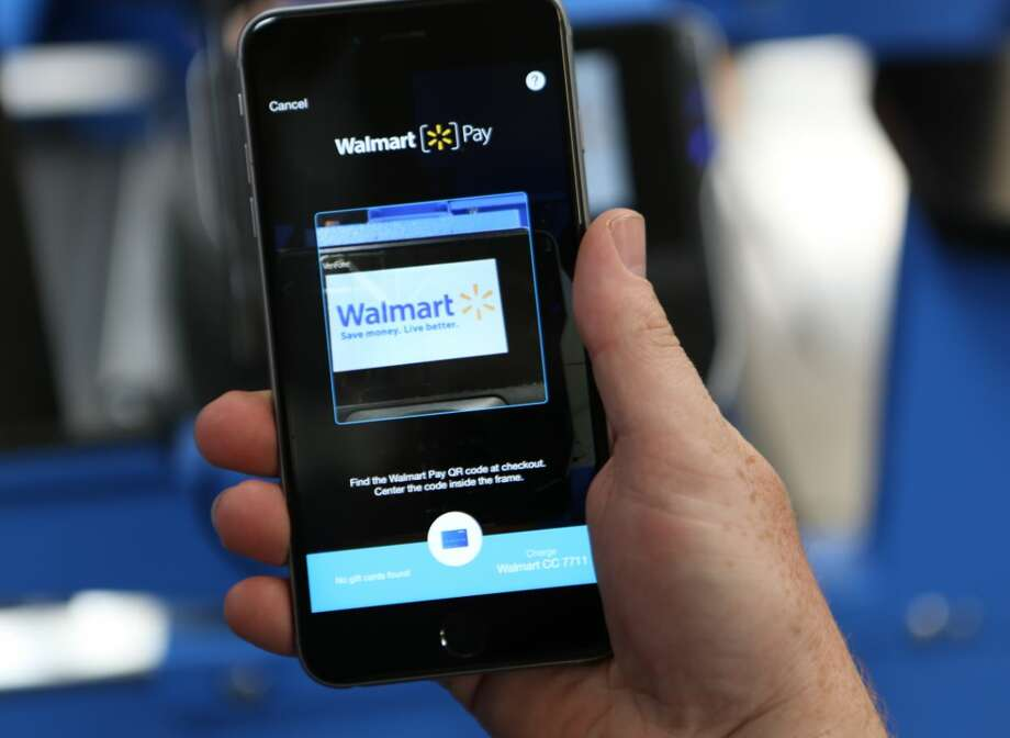 "Walmart launched its smartphone app-based ""Walmart Pay"" system in Texas on Monday, May 16, 2016. (Contributed photo) Photo: Smith, Michael"