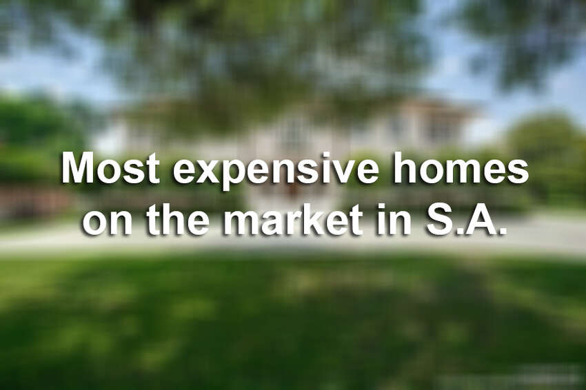 San Antonio has some stunning real estate, but it's going to cost you more than a few dollars.Keep clicking view the 9 most expensive homes on the market in San Antonio.