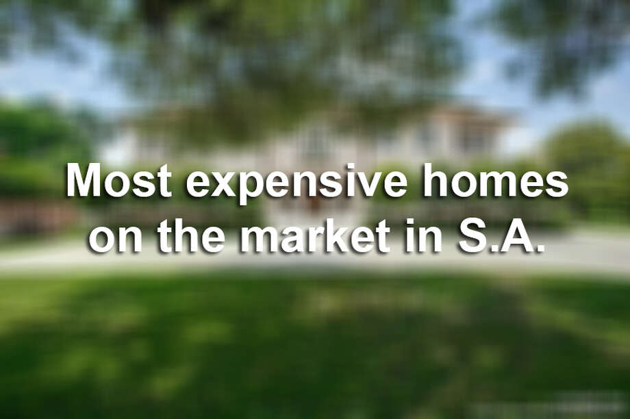 San Antonio has some stunning real estate, but it's going to cost you more than a few dollars.Keep clicking view the 9 most expensive homes on the market in San Antonio. Photo: Courtesy, Judy Barnes Via MySA.com