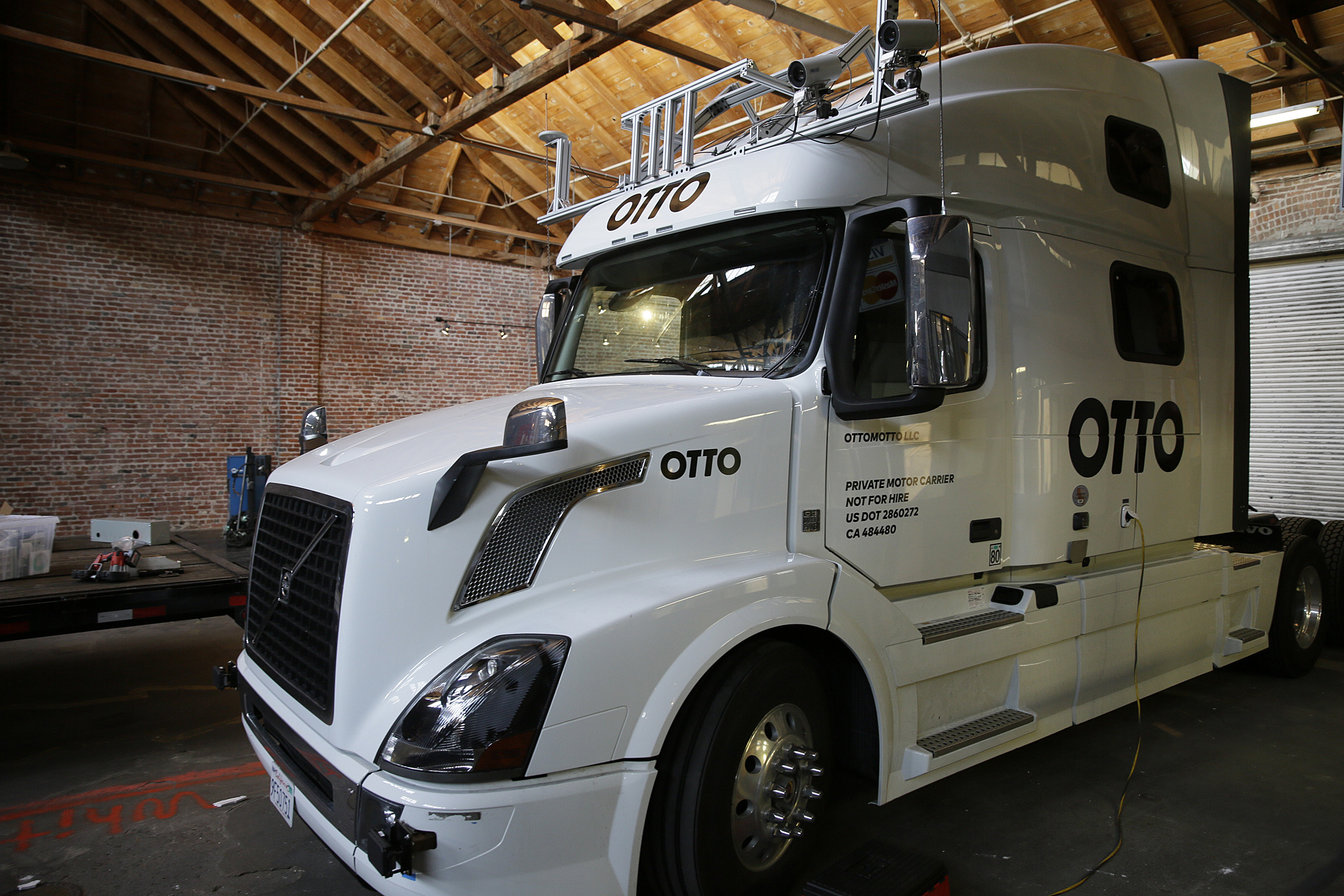startup wants to put self driving big rigs on us highways sfgate