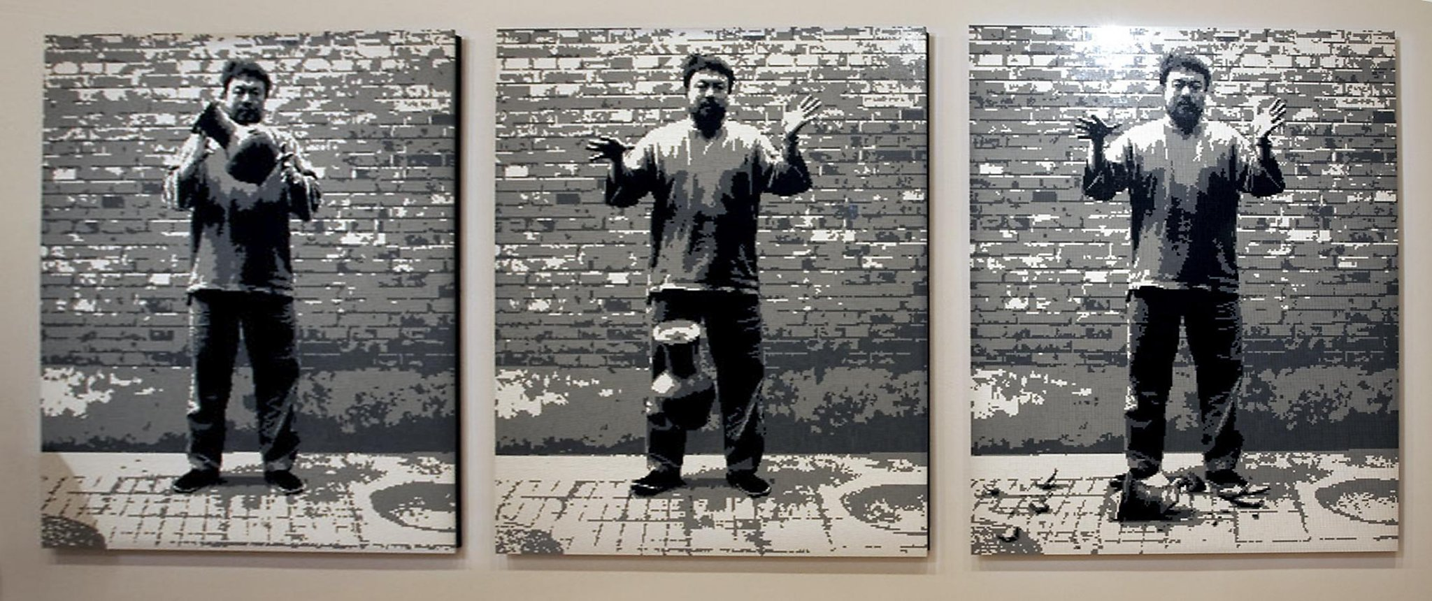 Ai weiwei uses legos in new overrated exhibit sfgate floridaeventfo Image collections